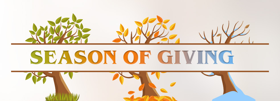 Season of Giving Banner